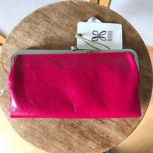 Hobo Lauren Wallet pink leather NWT new great gift